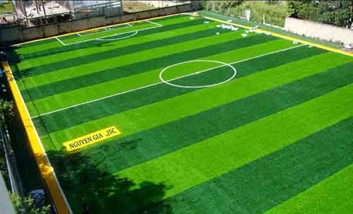 Cỏ nhân tạo sân bóng Nguyễn Gia