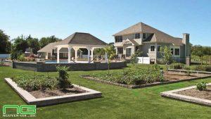 Thi công sân vườn cỏ nhân tạo