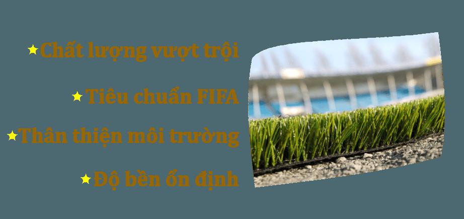 Nguyễn Gia – Cỏ nhân tạo sân bóng đá, sân vườn chất lượng vượt trội