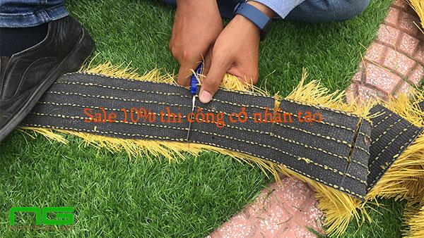 Giảm giá 10% thi công cỏ nhân tạo ngày giải phóng Miền Nam 2