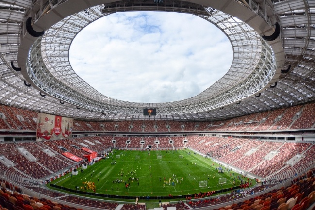 1. Luzhniki - 1 trong 12 san van dong WorldCup 2018