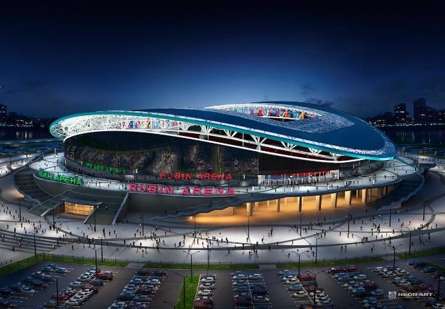 5. Kazan Arena - 5 trong 12 san van dong WorldCup 2018