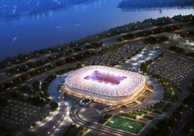 7. Rostov Arena - 7 trong 12 san van dong WorldCup 2018