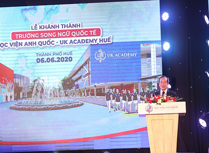 Tien si Do Manh Cuong - Pho Tong Giam doc NHG phat bieu